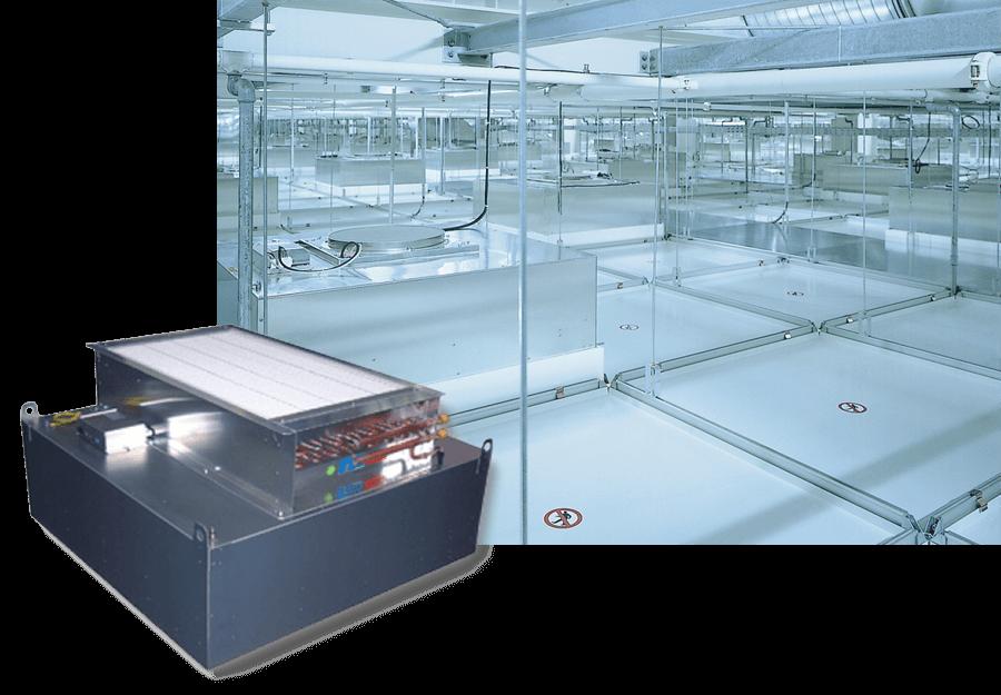 Filter-Ventilator-Modul für die Reinraum-deckensysteme / Reinraumdeckensystem für Elektronik oder Maschinenbau